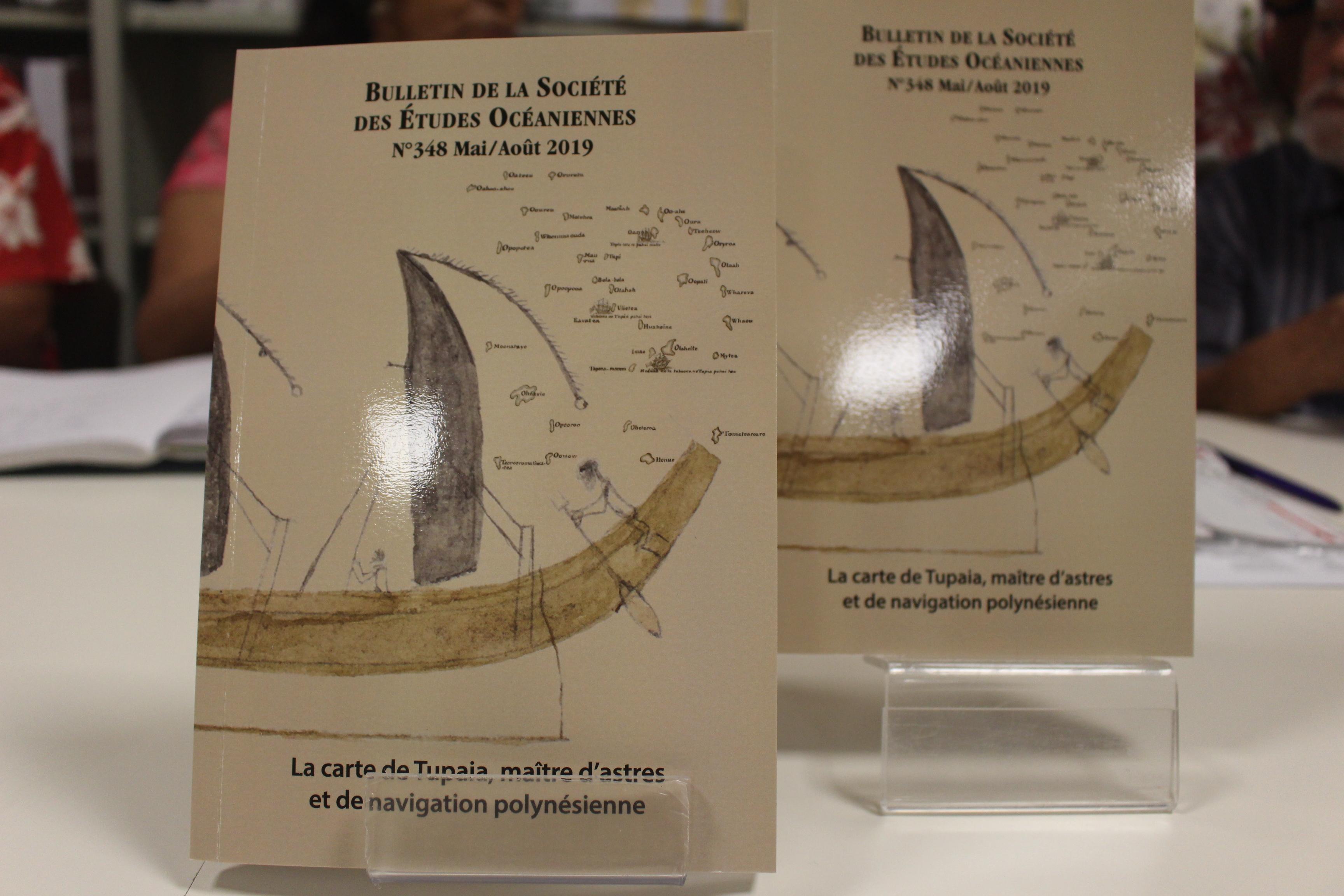 Le nouveau BSEO entièrement consacré à Tupaia et sa fameuse carte