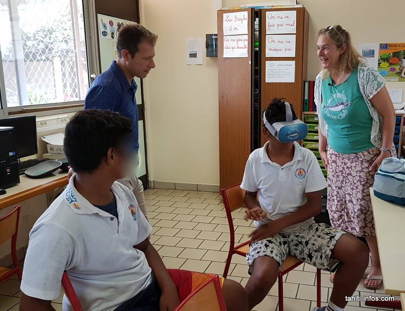 La réalité virtuelle pour aider les enfants malades