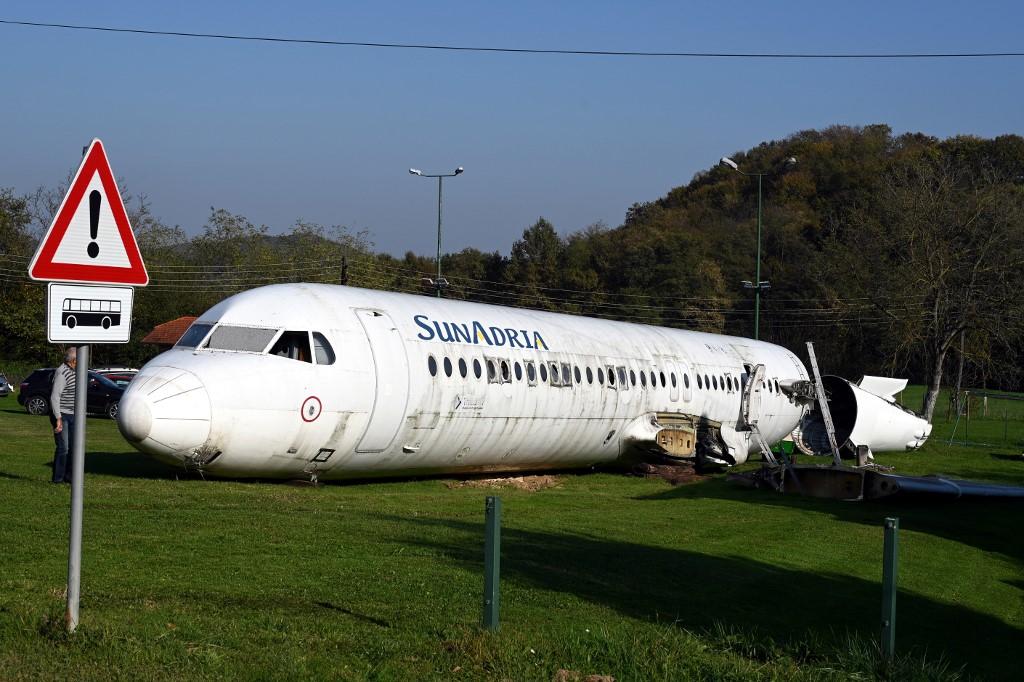 Un Croate veut transformer un Fokker-100 en attraction touristique