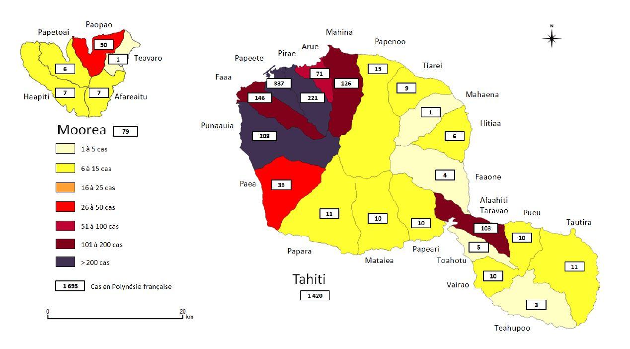 346 nouveaux cas de dengue 2 en deux semaines