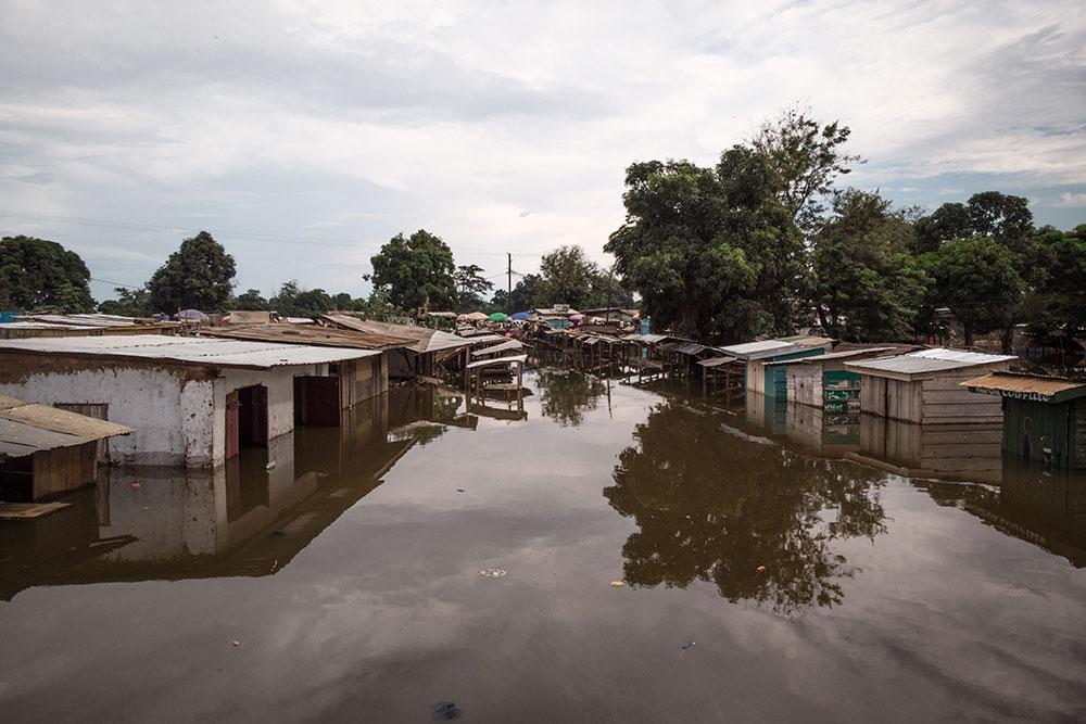 Pluies diluviennes et grande crue de l'Oubangui: la Centrafrique sous les eaux
