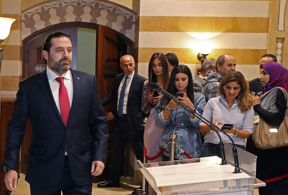 Liban: levée des barrages après la démission de Hariri, mais rien n'est réglé
