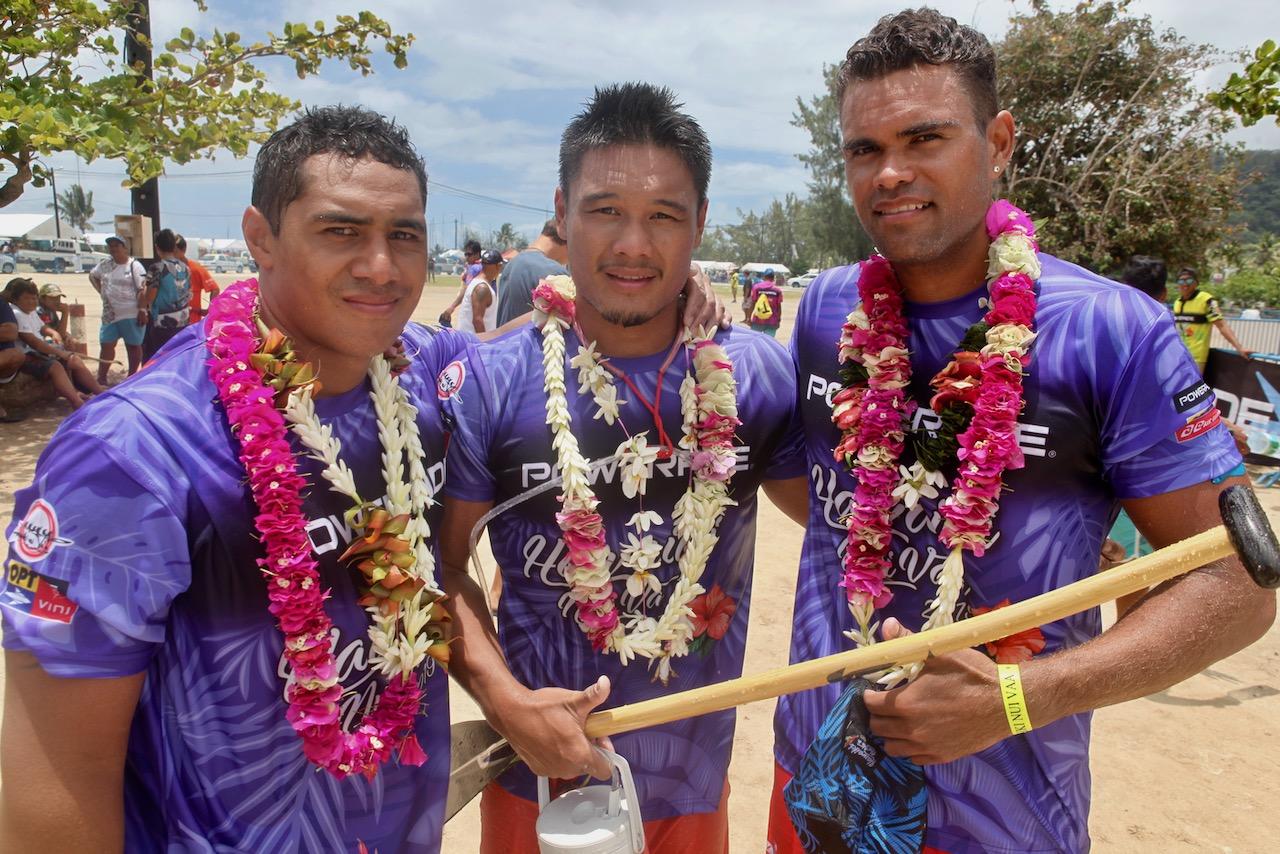 Hawaiki Nui : Réactions à l'arrivée de la 1ère étape