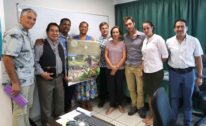 Le fenua dans le réseau d'agro-écologie du Pacifique