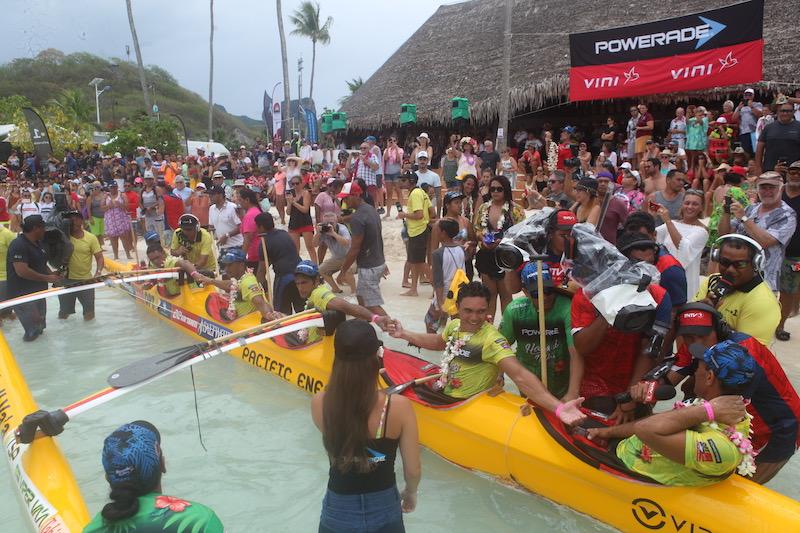 Shell va'a s'offre sa huitième Hawaiki Nui