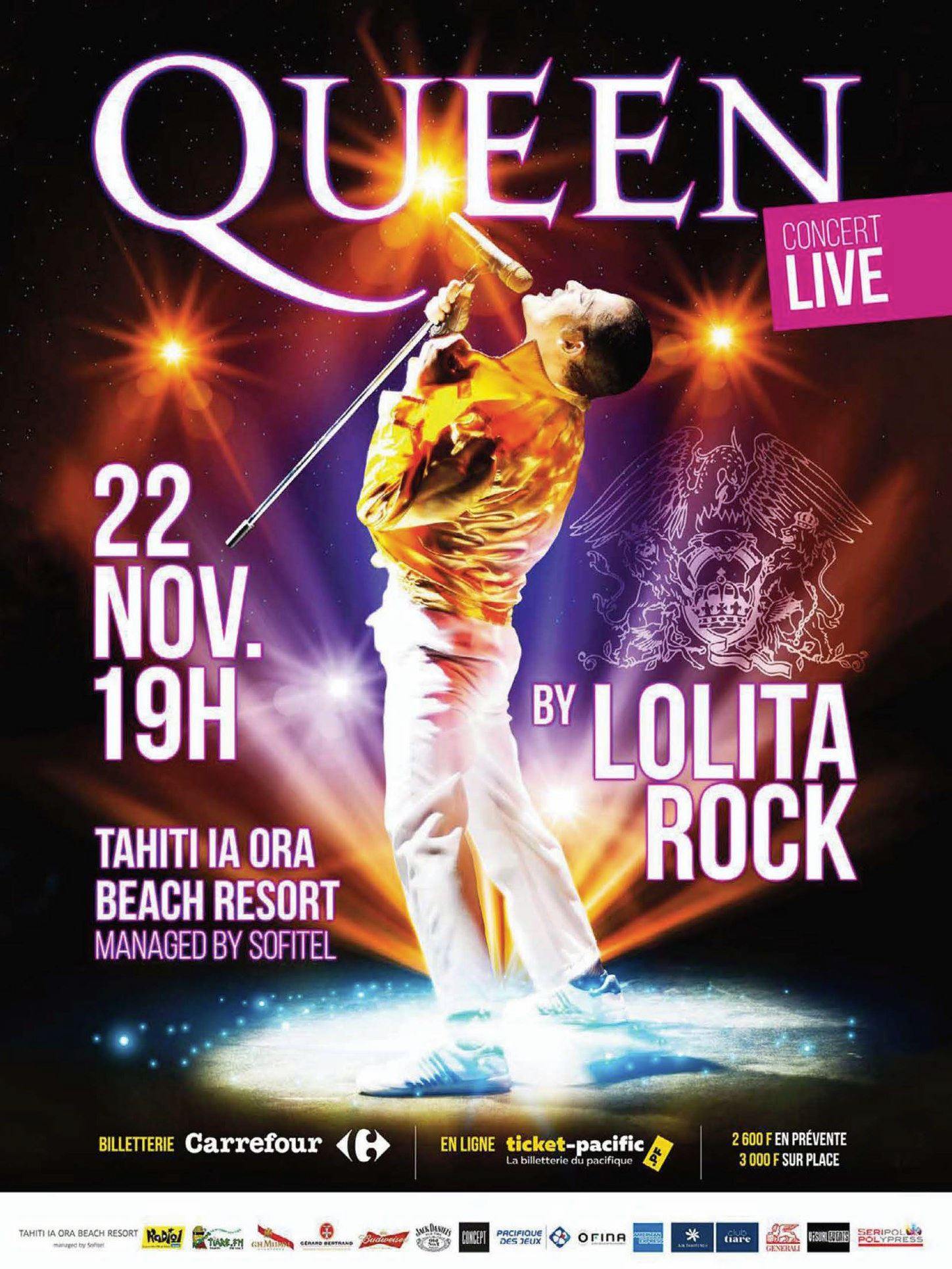 The show will go on avec Lolita Rock
