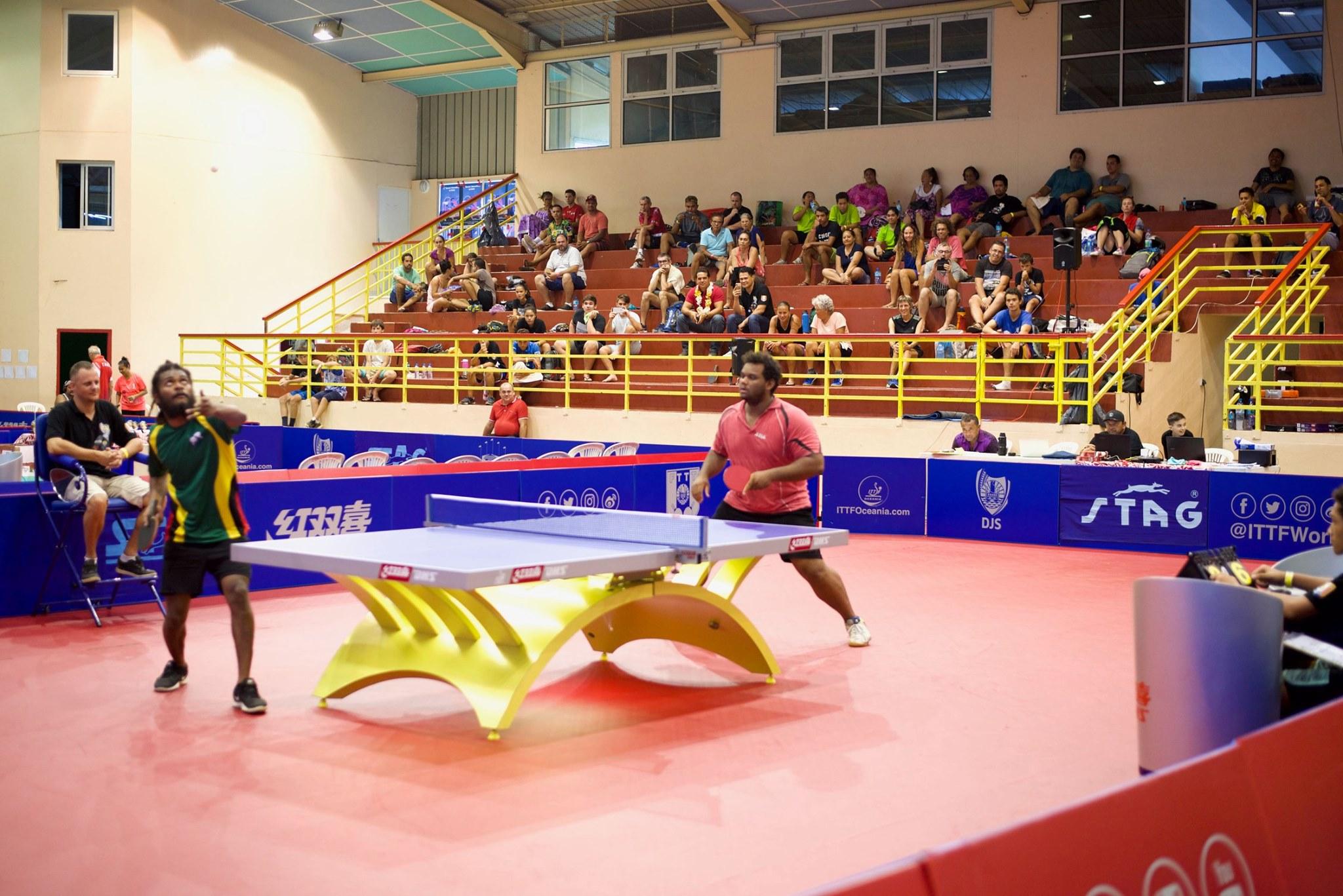 Il a fallu cinq sets à Alizé Belrose pour s'imposer face à Yoshua Shing, médaillé d'or aux derniers Jeux du Pacifique aux Samoa.