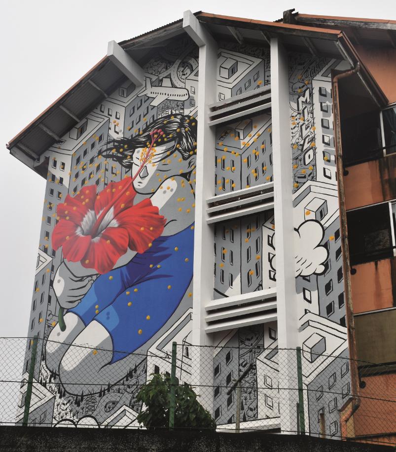 Ono'u : L'art pour faire le mur