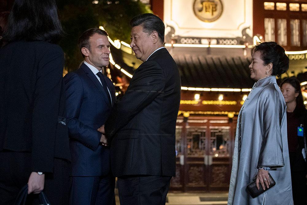 A Shanghai, Macron appelle la Chine à s'ouvrir davantage
