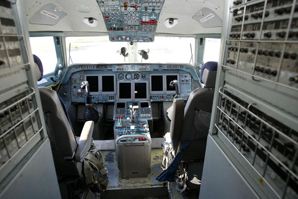 Russie: un pilote donne les commandes de l'avion à une passagère