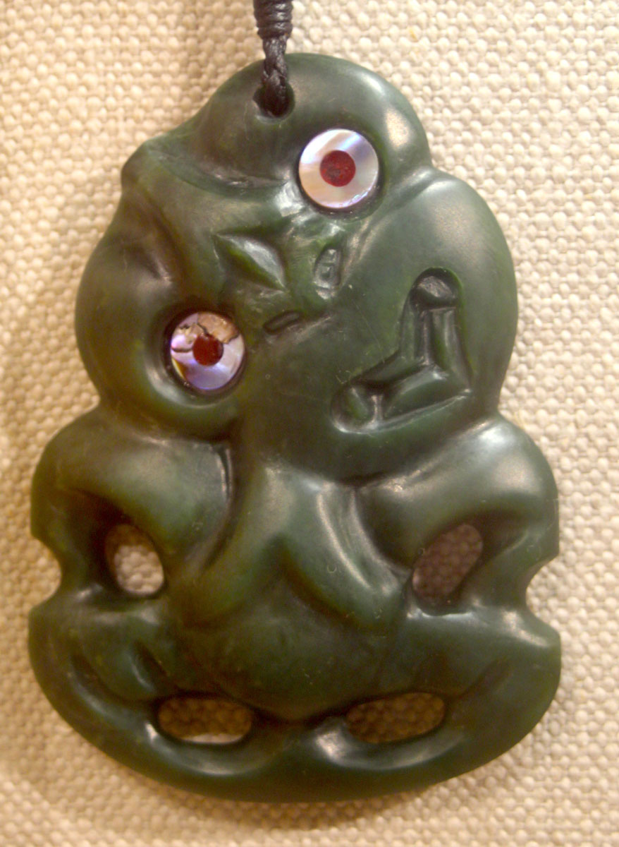Le hei tiki est le motif qui était le plus apprécié des anciens Maoris.