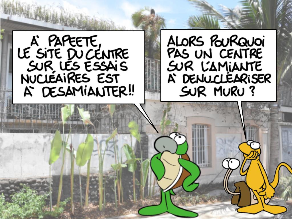 """""""Désamianter ou dénucléariser"""", par Munoz"""
