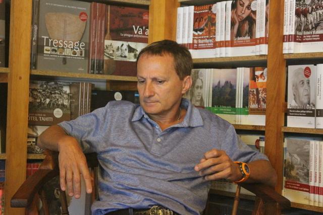 Bruno Saura embarque ses lecteurs dans le lointain passé de Tahiti