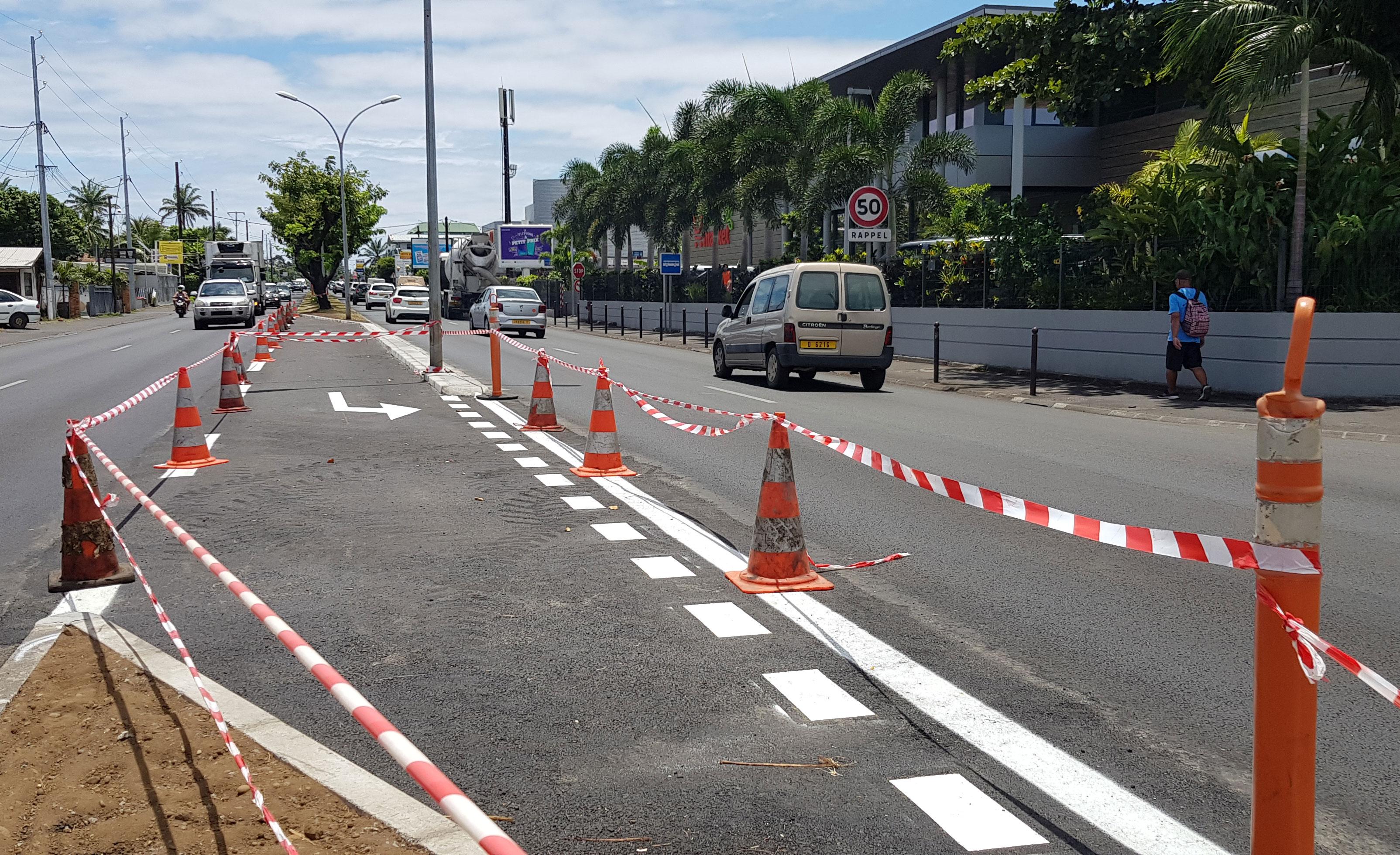 Ce nouveau tourne-à-gauche doit permettre de se rendre plus aisément dans le quartier de Mamao.