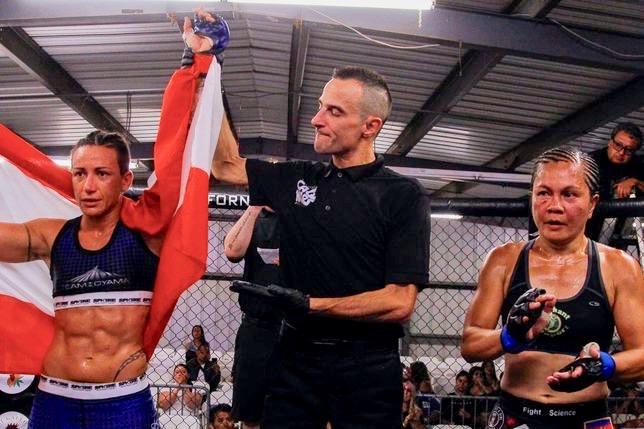 Flore Hani avait remporté son dernier combat pour l'organisation Californie Cage Wars