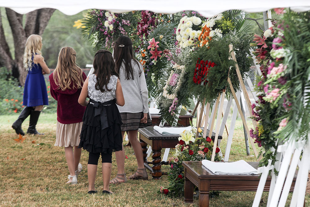 Les Mormons du Mexique enterrent leurs morts