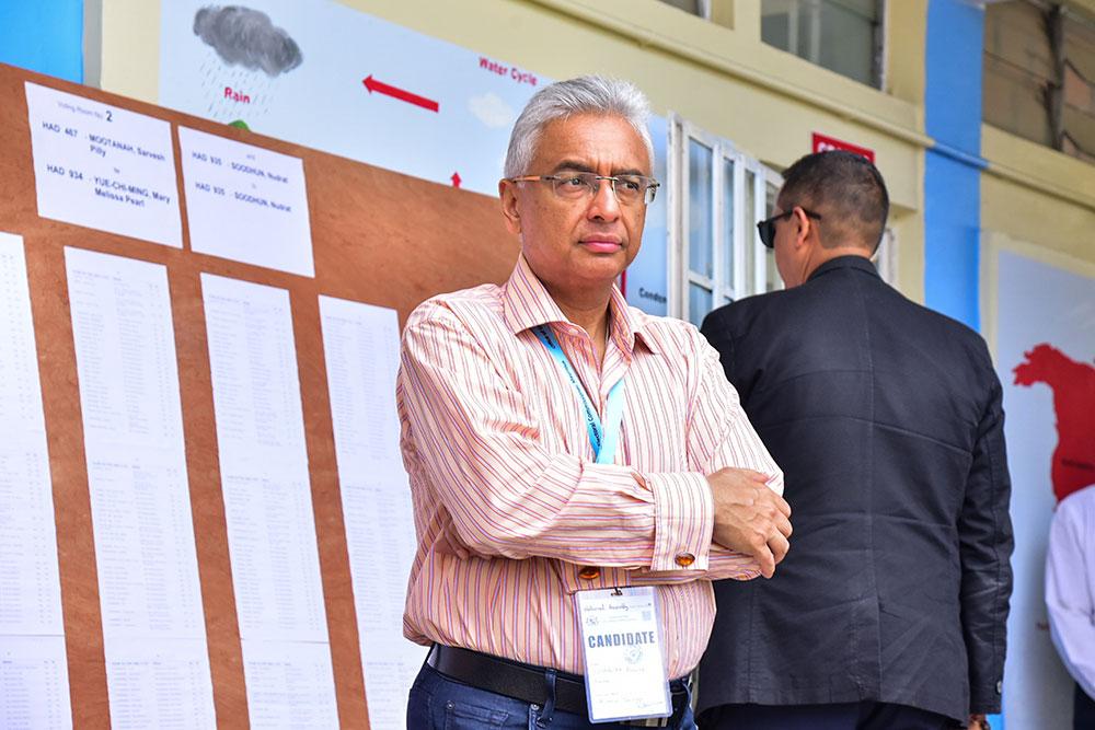 Législatives à Maurice: le Premier ministre en tête, selon des résultats partiels