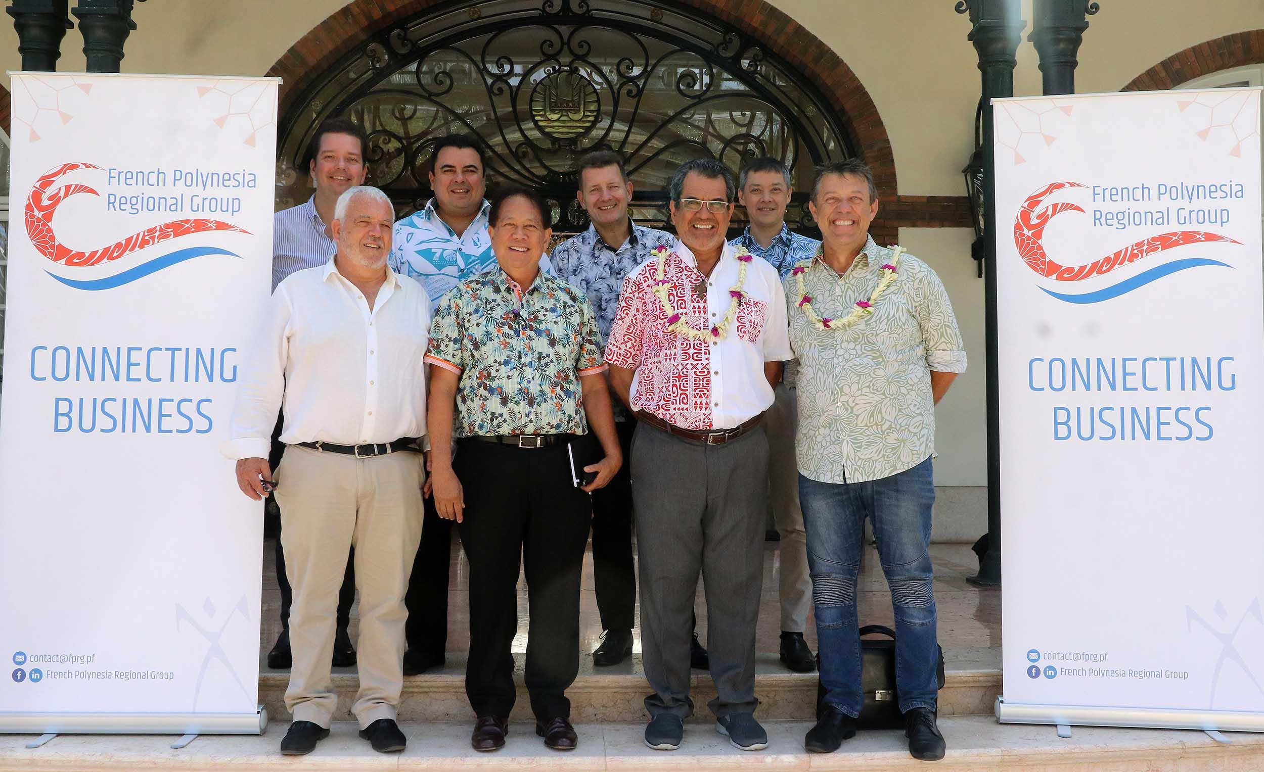 Le secteur privé polynésien crée son groupe dans le Pacifique