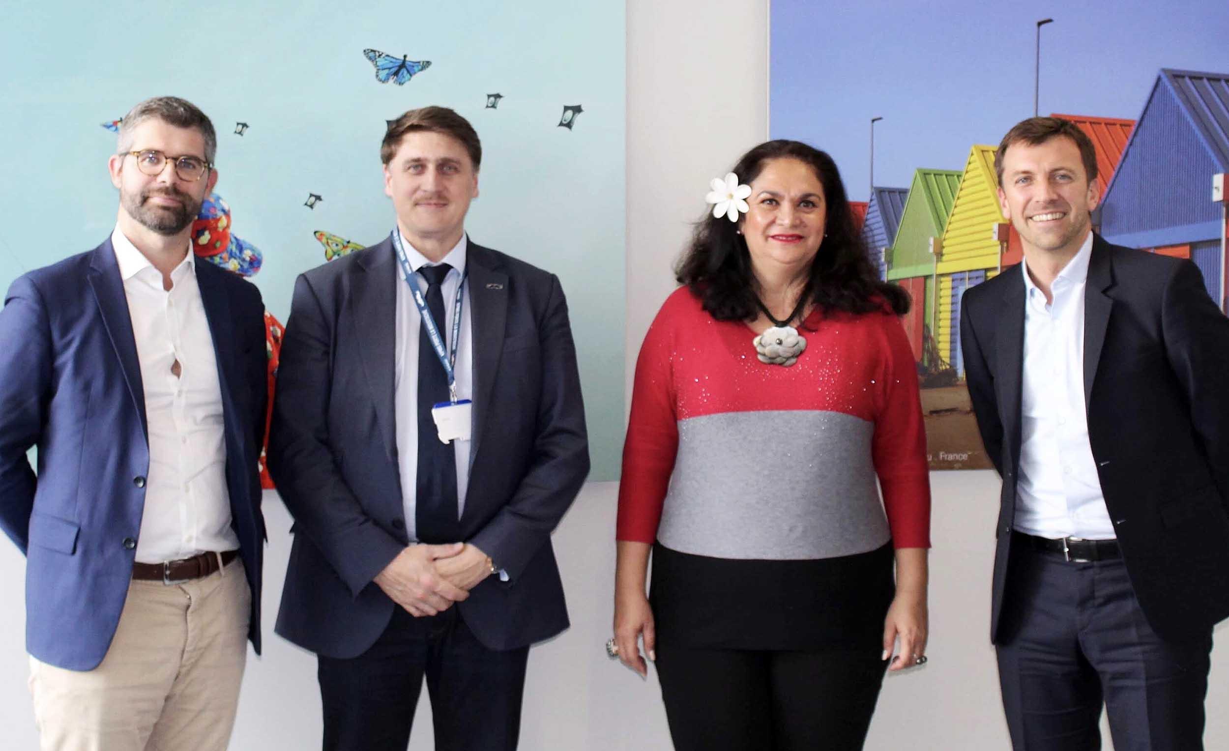 La ministre du Tourisme a rencontré, mardi, le directeur général du Club Med, Grégory Lanter.