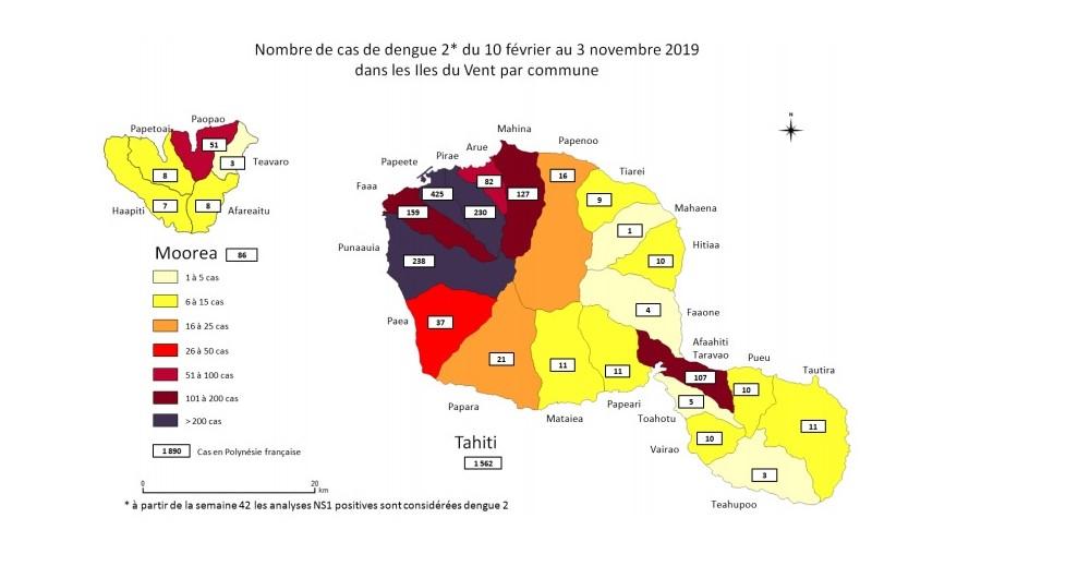 L'épidémie de dengue 2 se stabilise