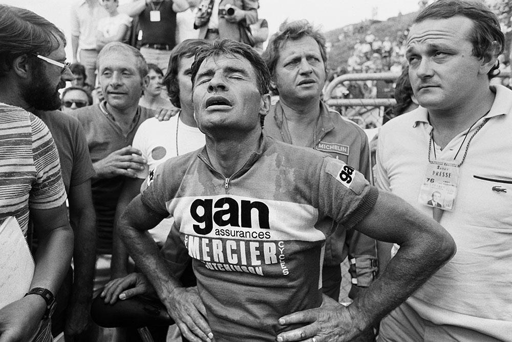 """Décès de Poulidor: la dernière échappée de """"Poupou"""""""