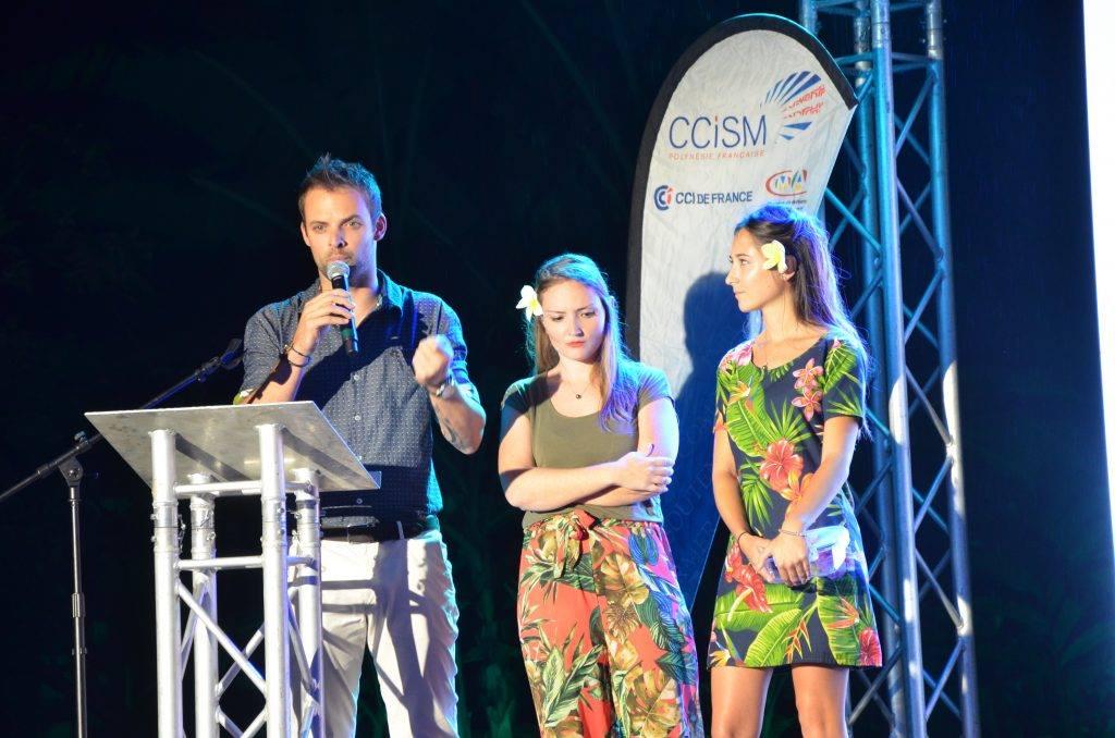 Clémence David, Anais Pucci et Tanguy Blavin défendront de nouveau son projet aujourd'hui lors de la finale. L'annonce des résultats est prévue pour le mardi 19 novembre..