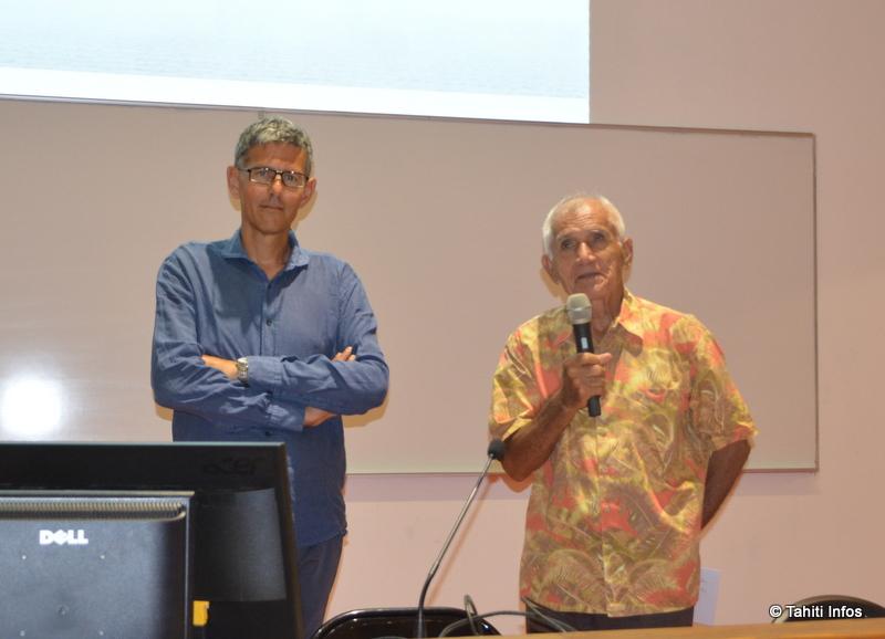 Christian Laget et Georges Estall