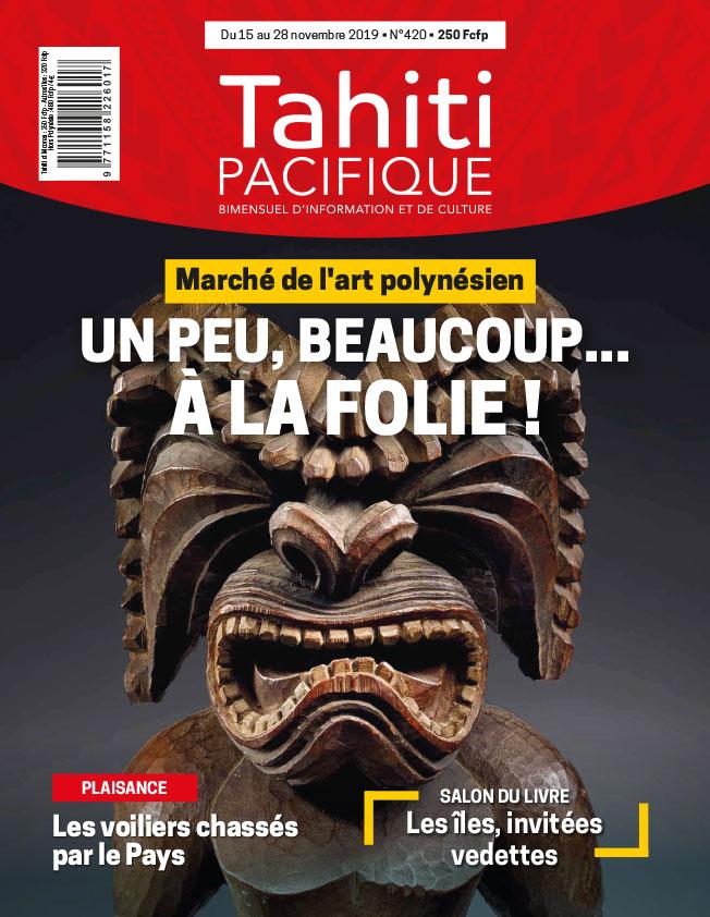 À la Une de Tahiti Pacifique vendredi 15 novembre