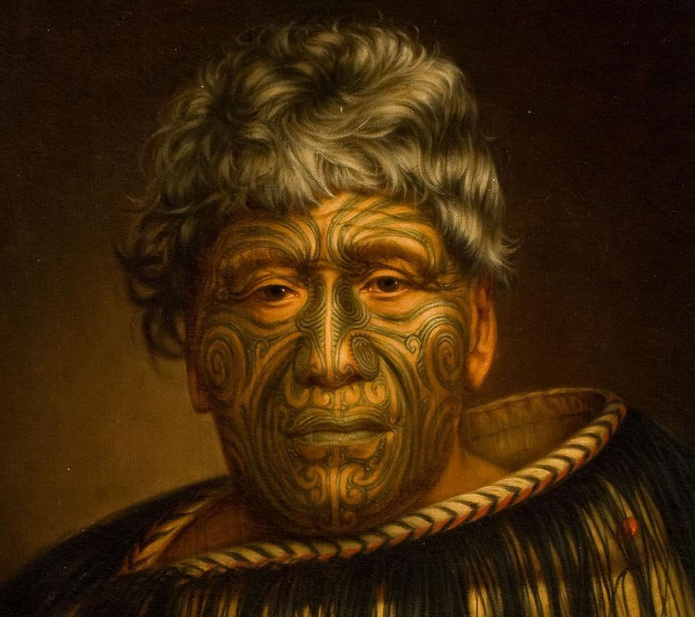 Les Maoris étaient célèbres au XIXe siècle pour leurs tatouages faciaux, les moko.