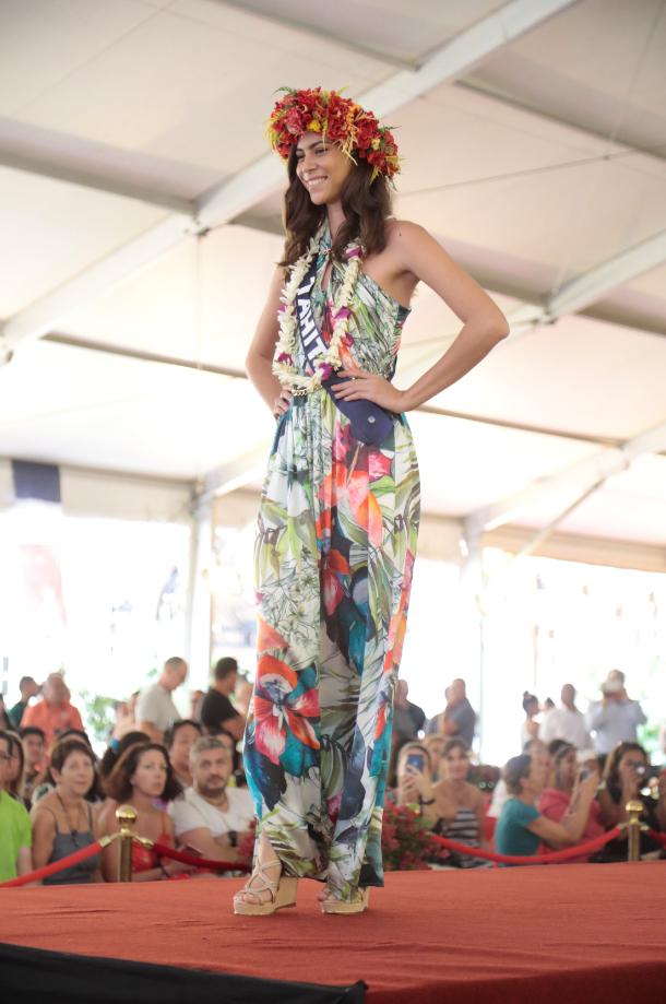 Miss Tahiti 2019, Matahari Bousquet
