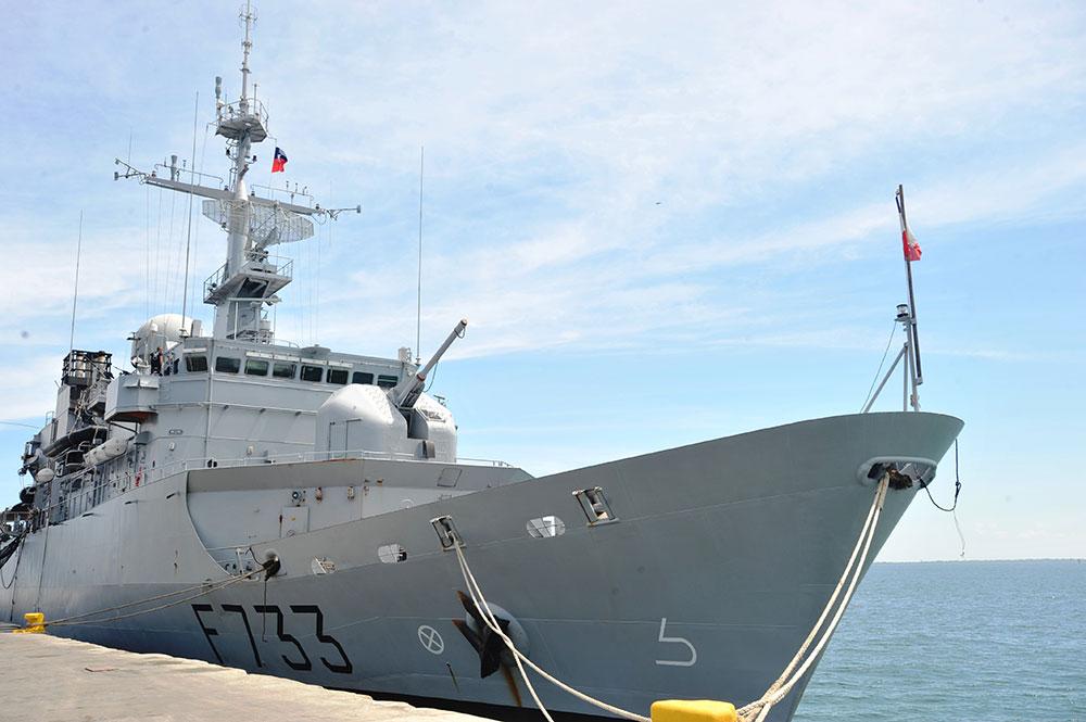 Au moins 80 kilos de cocaïne saisis en mer au large de la Guadeloupe