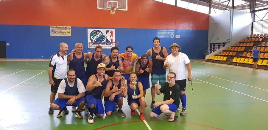 L'équipe Salaisons de Tahiti a remporté le tournoi.
