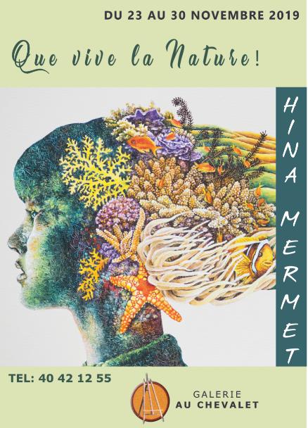 "La peintre Hina Mermet toujours aussi ""nature"""