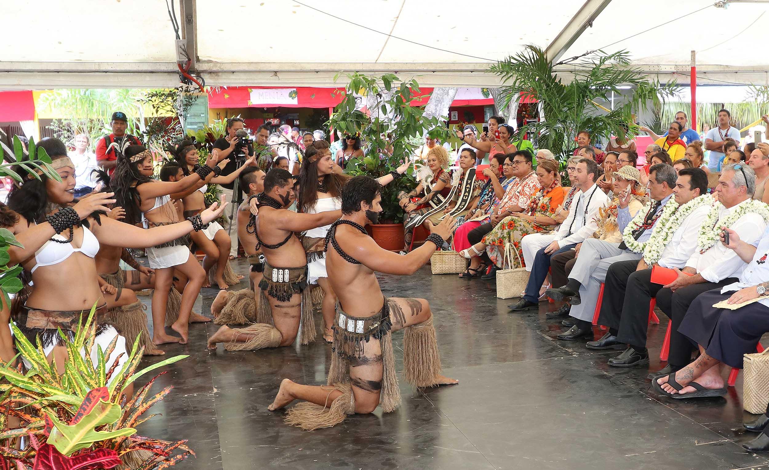 Le 49e Salon des marquises a ouvert ses portes mercredi au parc expo de Mama'o.