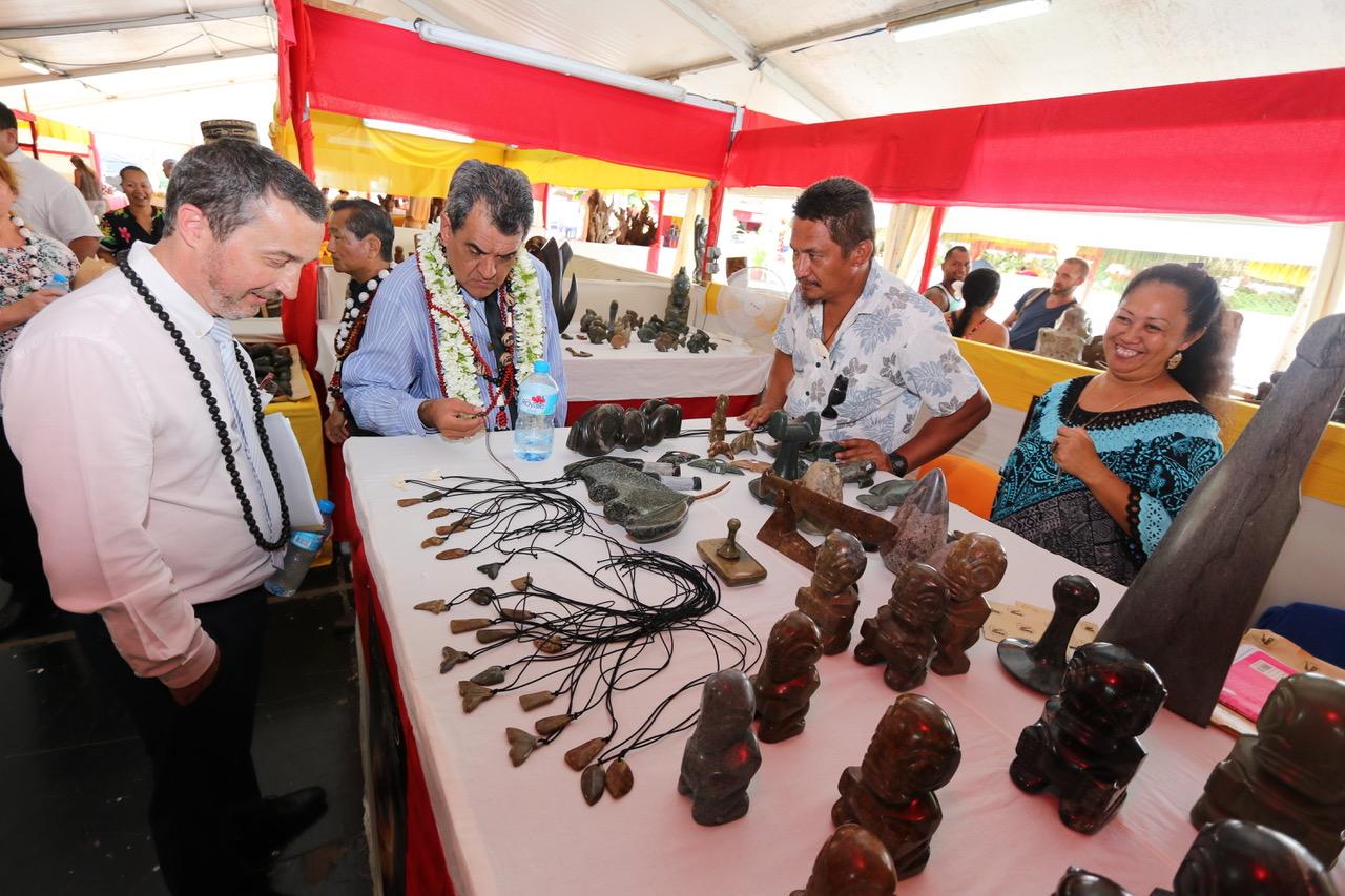 Les artisans des six îles de l'archipel ont fait le déplacement pour vous présenter le fruit de leur travail.