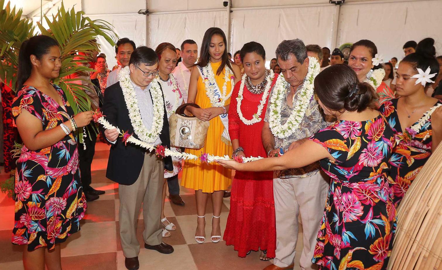 Le forum a été inauguré par le consul de Chine en Polynésie, Zhiliang Shen et le président de la Polynésie, Edouard Fritch.