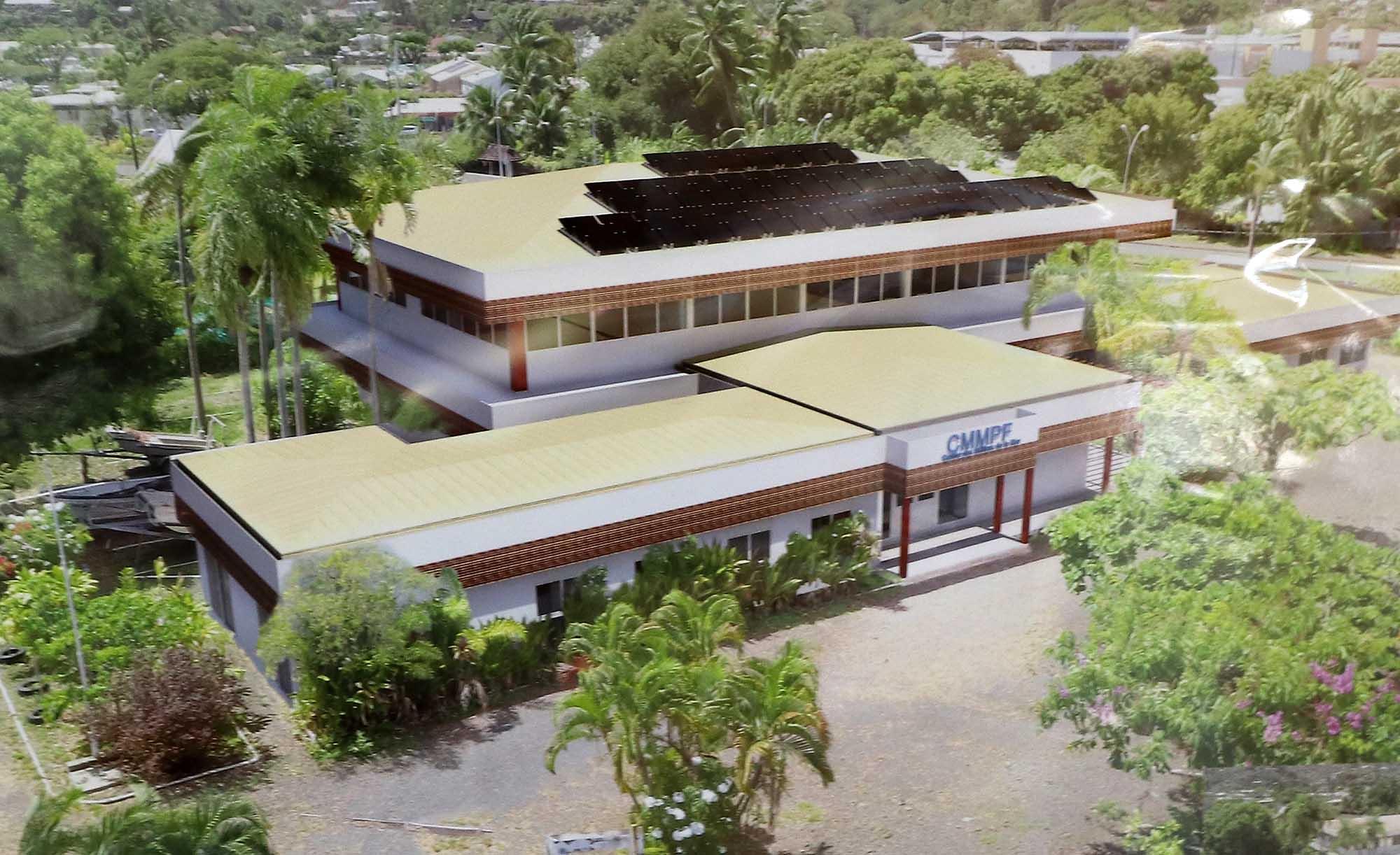 Un campus des métiers de la mer à Arue en 2020