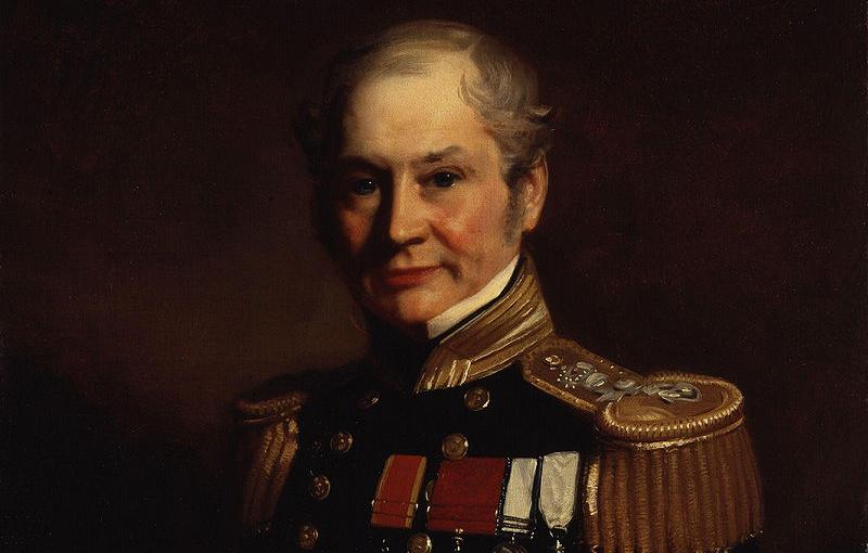 On doit ce portrait d'Edward Belcher au peintre anglais Stephen Pearce. Il était le capitaine le plus détesté de la Royale britannique.