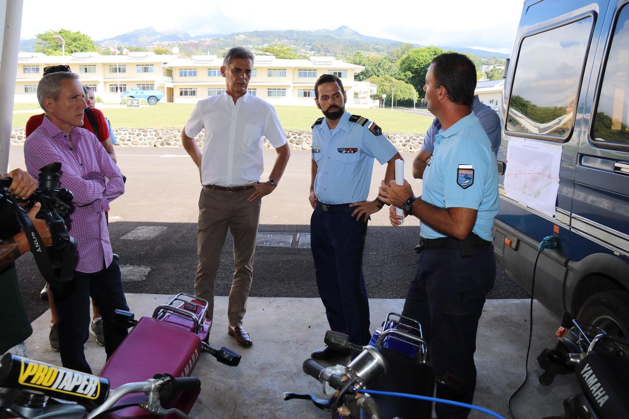 Sept motos immobilisées après une opération anti-runs à Tahiti
