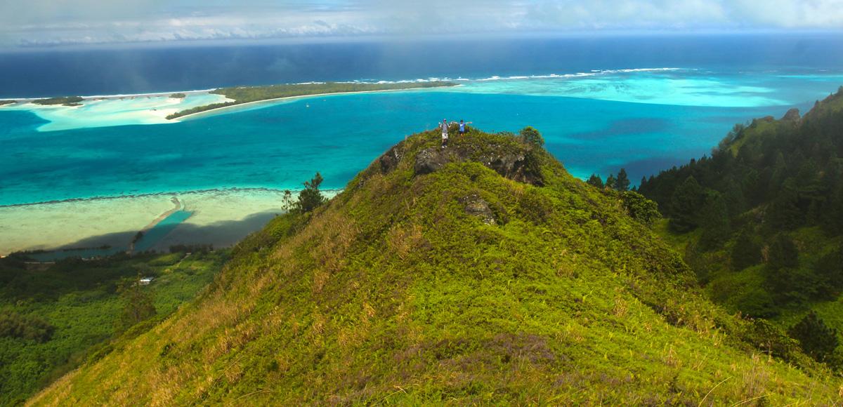 Aucun doute à avoir, le lagon de Raivavae est indubitablement l'un des plus beaux de la Polynésie française.