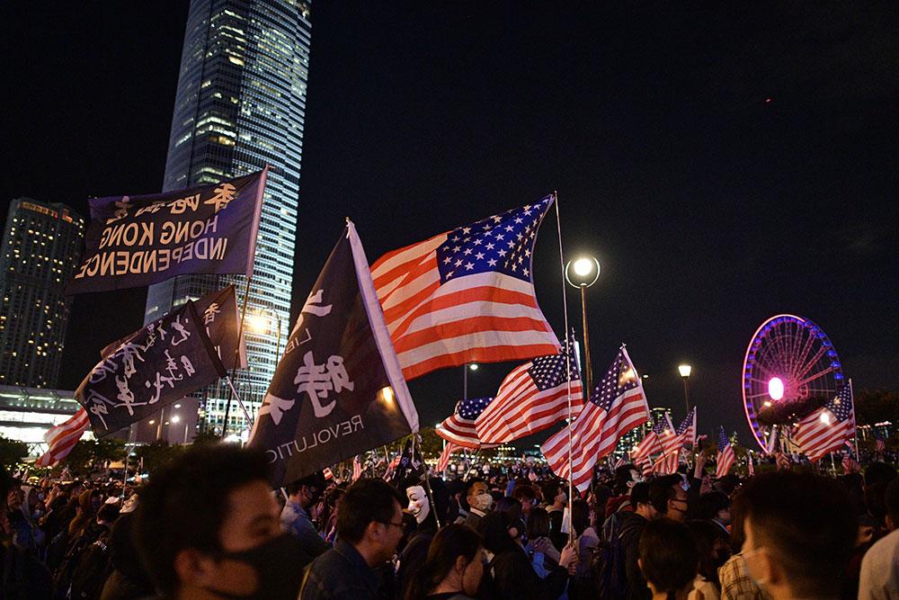 Hong Kong: grande manifestation dimanche, et appels à la grève lundi