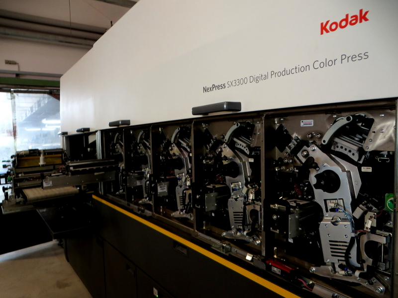 La Kodak Nexpress SX 3300 est un outil de référence dans le monde de l'édition numérique... Qui sera disponible à Tahiti dans quelques mois !