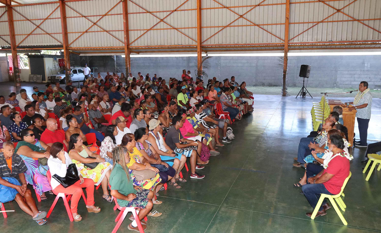 Distribution d'aides au logement pour 190 familles
