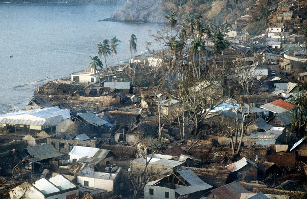 Le dernier cyclone - nommé Kamissi - passé à Mayotte remonte au 12 avril 1984 (photo d'archives).