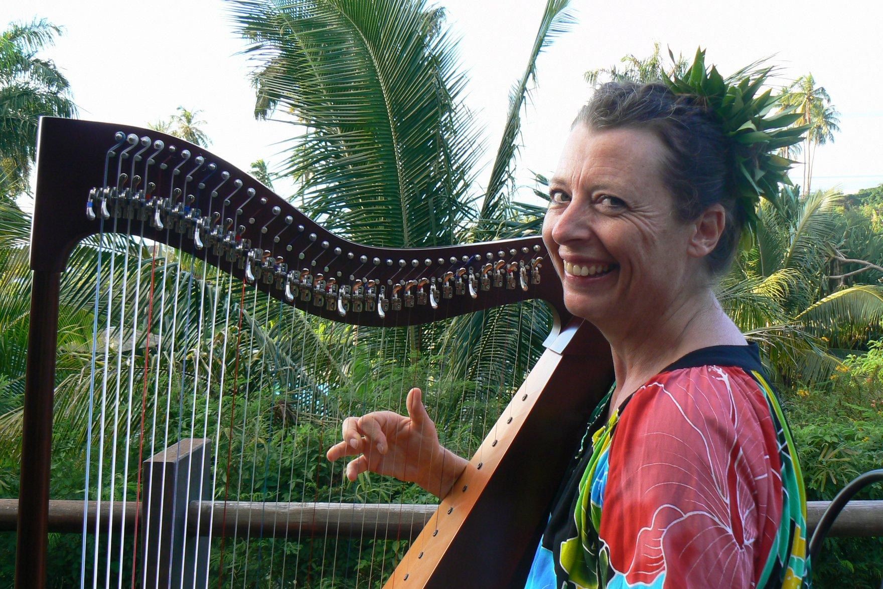De la harpe pour Noël au CAPF