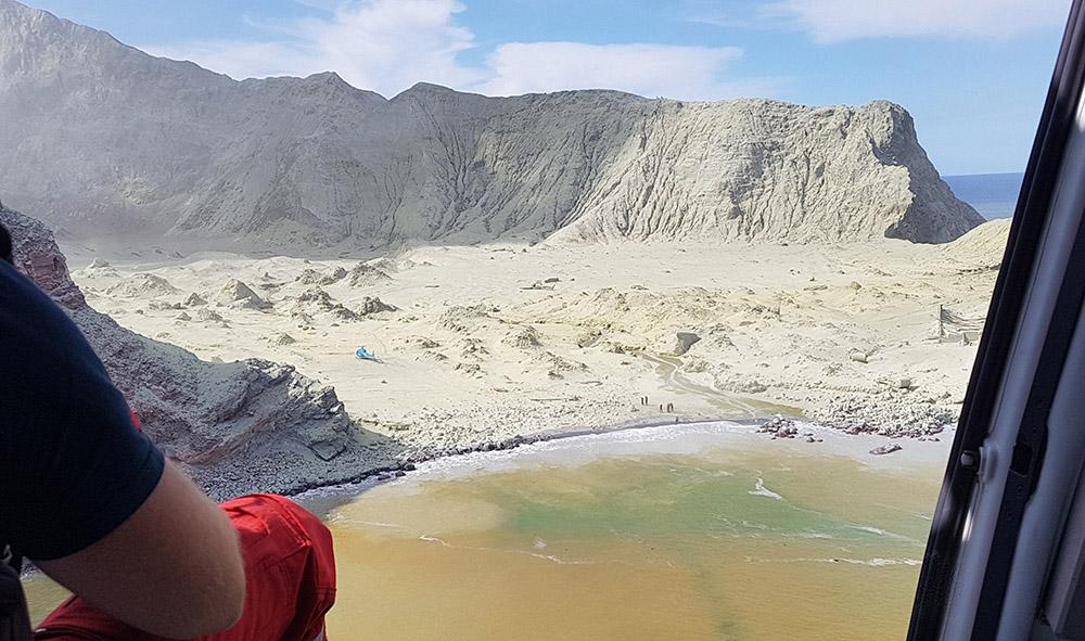 Eruption meurtrière d'un volcan en Nouvelle-Zélande: ouverture d'une enquête criminelle