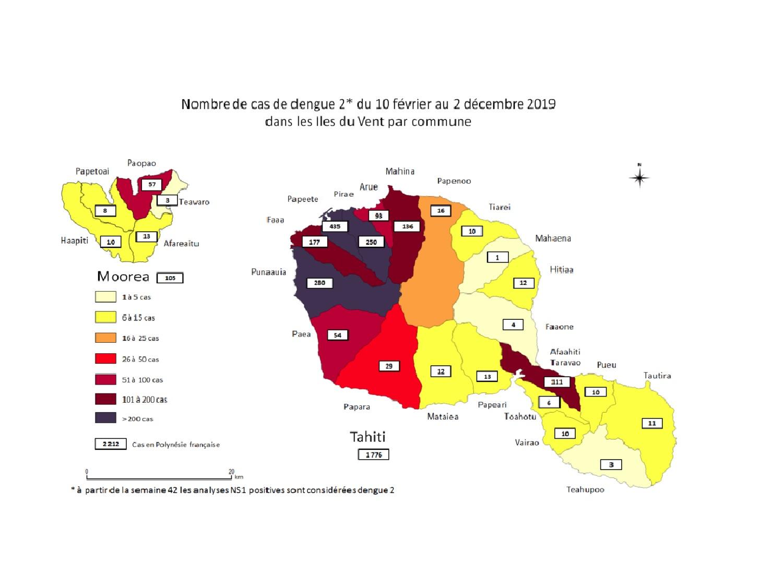 L'épidémie de dengue 2 se poursuit