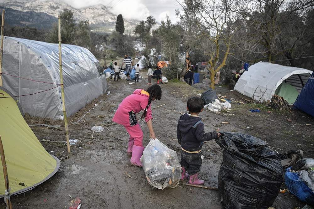 Grève sur les îles grecques contre l'ouverture de nouveaux camps