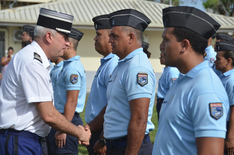 42 réservistes promus gendarmes