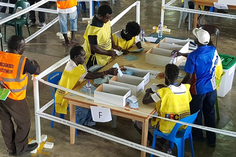 Papouasie-Nouvelle-Guinée: Bougainville a voté pour son indépendance